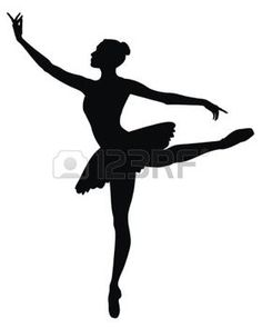 ballett: tanzende ballerina