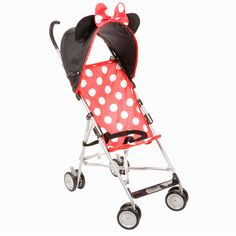 Minnie Mouse Umbrella Stroller  @Christie Hensley Omg you NEED this!!!