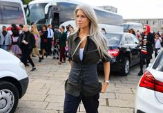 It's Official: The Corset Is the Hottest Street Style Trend in Milan