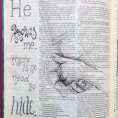 Scripture Art, Bible Art, Bible Scriptures, Bible Quotes, Quotes Quotes, Bible Study Journal, Scripture Journal, Art Journaling, Bibel Journal