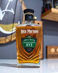 Luca Mariano Small Batch Rye Review - Whiskey Consensus Rye Whiskey, Perfume Bottles, Perfume Bottle