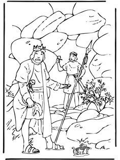 bible coloring pages david - David Jonathan Coloring Pages