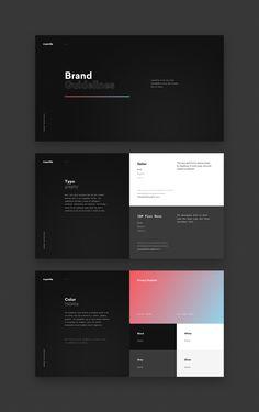 png by Steven Hanley Graphic design - Charte graphique Design Brochure, Branding Design, Keynote Design, Web Layout, Layout Design, Website Layout, Portfolio Design, Site Web Design, App Design