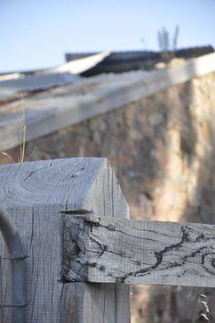Ruins. I need a model to climb on the fence!! =)