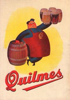 Cerveza QUILMES, Argentina, 1944.