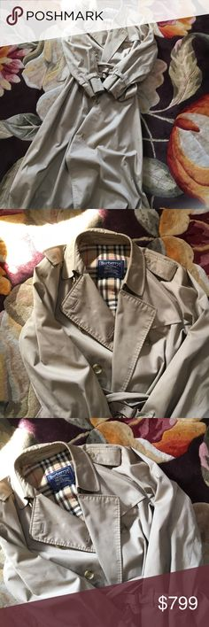 Burberry trench coat Burberry trench coat Burberry Jackets & Coats Trench Coats