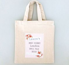 personalised party bags by tilliemint loves | notonthehighstreet.com