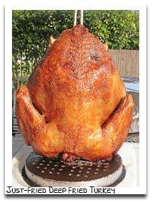 Fried Turkey Injection Recipe Ideas:   Recipes for Deep Fried Turkey Marinades, with Injection