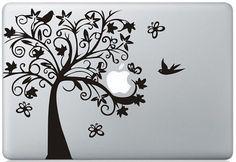 Tree -- Macbook Decals Macbook Stickers Mac Vinyl Decal for Apple Laptop Macbook Pro / Macbook Air / iPad