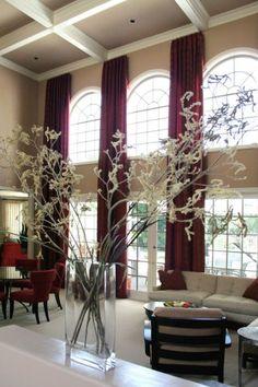 1000 Ideas About Tall Window Treatments On Pinterest