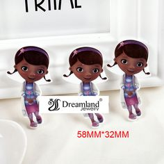 Find More Resin Crafts Information about 30pcs/lot 58MM X 32MM  New cartoon resin flatbacks little sweet girl flat back planar resin for DIY holiday decoration DL 92,High Quality Resin Crafts from Dreamland Fashion Jewelry on Aliexpress.com