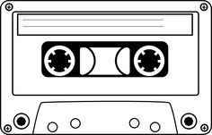 Cassette tape clipart   Cassette clip art - vector clip art online, royalty free & public ...