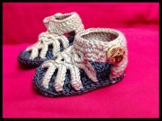 sandali bimba 0-3 mesi; cotone e seta.