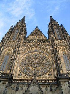 St. Vitus cathedral in Prague, Czech Republic.