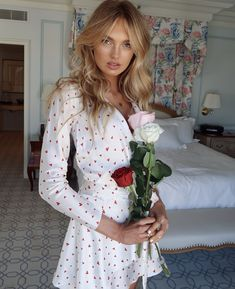 Romee Strijd for Victoria's Secret Valentine's 2018