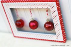 We all love to make creative, crafty, one of a kind Christmas decorations! DIY holiday decorating projects using dollar store ornaments!