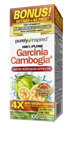 Purely Inspired Garcinia Cambogia Veggie Tablets Walmart Canada