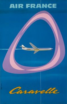 Air France Caravelle | Paul Colin, 1959