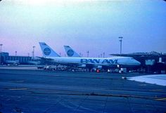 JFK Worldport 747-100s ~ Original pin from the web ( Steve Priske ) by Steve ...... Saved by the Grace of God