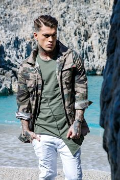 Model Stephen James for Stefan Fashion