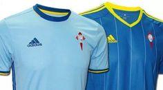 camisetas de futbol online 2018: Nueva camisetas de futbol del Celta de Vigo