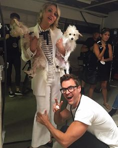 Pin for Later: Stylist Brad Goreski Just Created His Own Hashtag — and Now We Want to Use It Too From Making Sure Everything Is in Place