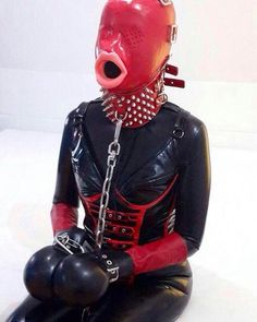 Rubber sex Bondage