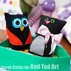 The Owl and The Pussycat Craft Idea