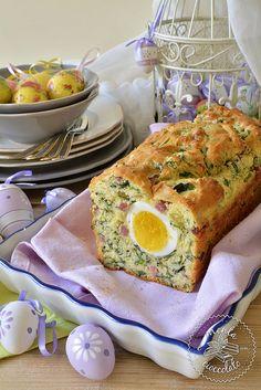Menta e Cioccolato: #Plumcake salato con Spinaci e Pancetta, la mia prima #Videoricetta #Ester #Pasqua #Eggs