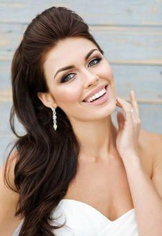 ▷ Brautfrisuren Halboffen - 24 elegante Ideen für den wichtigsten Tag im Leben