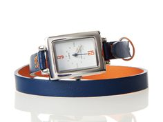 Tokyo Bay Colorblock Wrap Watch from Jeannie Maion