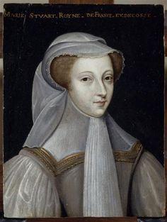 Mary in deuil blanc again.