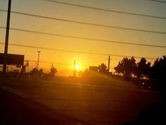 Sunrise in Tehran