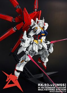 POINTNET.COM.HK - 1/100 RX-93-v2[MSS]: Hi Nu Gundam MultiStrike System
