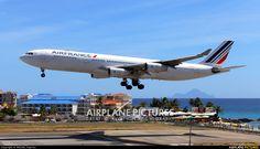 Air France F-GLZK aircraft at Sint Maarten - Princess Juliana Int photo