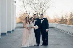 Romantic Pittsburgh Wedding at Lingrow Farm on Borrowed & Blue.  Photo Credit: Kristy Lumsden Photography
