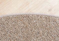 Berber Teppich Purowool braun rund Teppiche Art Berber / Natur Teppiche