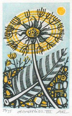 Angie Lewin's Relief Prints