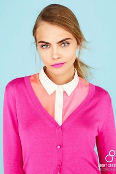 cara in all pink