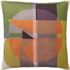 """Typology 16"""" Pillow in 20% off Pillow Sale   Crate and Barrel"""