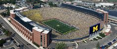 The Big House - University of Michigan, Ann Arbor MI <3