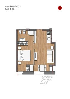 #fieramilanocity#corsosempione#arcodellapace the floor plan of the 'apartment. 45 sqm wooden floors throughout.