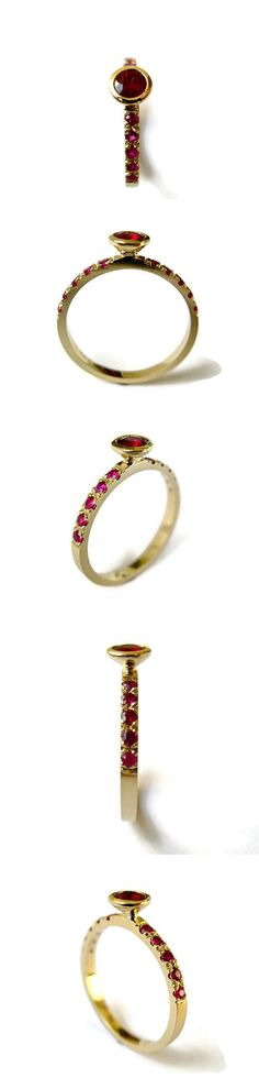 A very regal ruby ring. #etsyjewelry