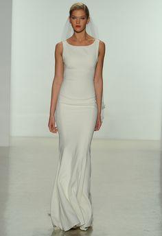 Amsale Wedding Dress | blog.theknot.com