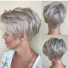 "7,266 Likes, 96 Comments - Pixie Cut | Short Hair Blogger (@nothingbutpixies) on Instagram: ""Who Else loves  when we feature multiple angles or the pixie cuts we feature?. Yes I love it No…"""