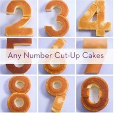How To Create Any Number With Store-Bought Cakes » Curbly   DIY Design Community