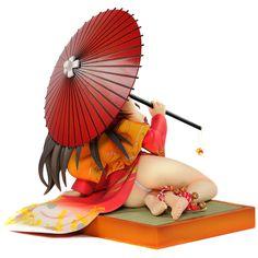 https://flic.kr/p/bLRJSX | DSC02117 | 足首に捲かれた飾り紐や和の風情漂う傘などの小物も細部まで制作。 日本傘は着脱可能となっており、趣を変えて飾ることが可能です。