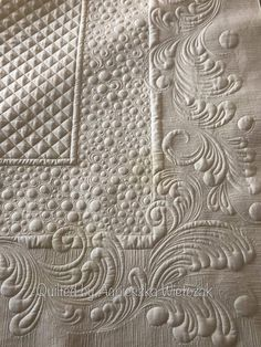 Quilting Stencils, Longarm Quilting, Free Motion Quilting, Hand Quilting, Quilt Square Patterns, Machine Quilting Patterns, Quilting Ideas, Millefiori Quilts, Crochet Bedspread Pattern