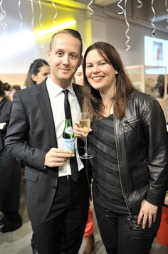 Murray Bevan and Carolyn Enting at Karen Walker Birthday Party 20th Birthday, Karen Walker, Party, Fashion Design, 20 Year Anniversary, 20 Birthday, Parties, 20th Anniversary