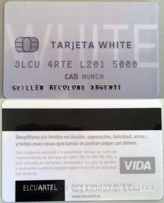 Detalle de la White Card